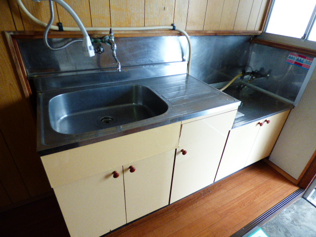 緑荘 202号室のキッチン