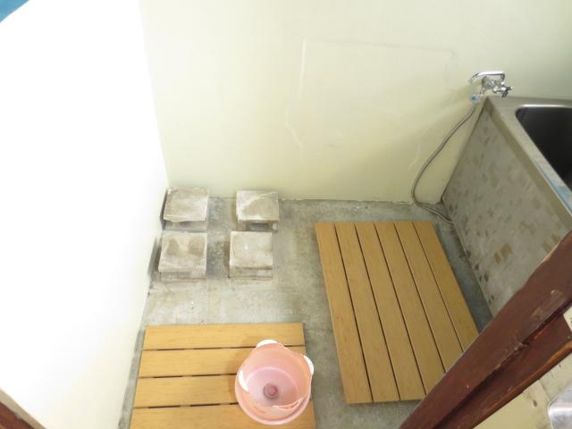 末広荘 203号室の風呂