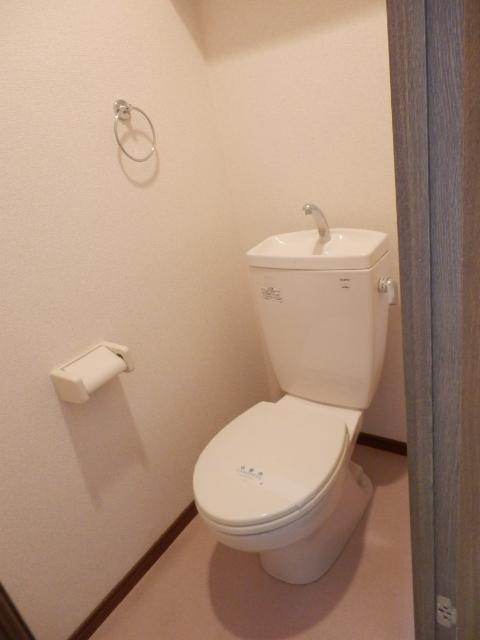 アムール MIYAMA 104号室のトイレ