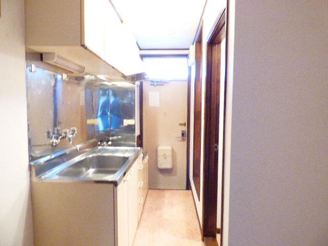 サンコーポ広瀬 102号室のキッチン