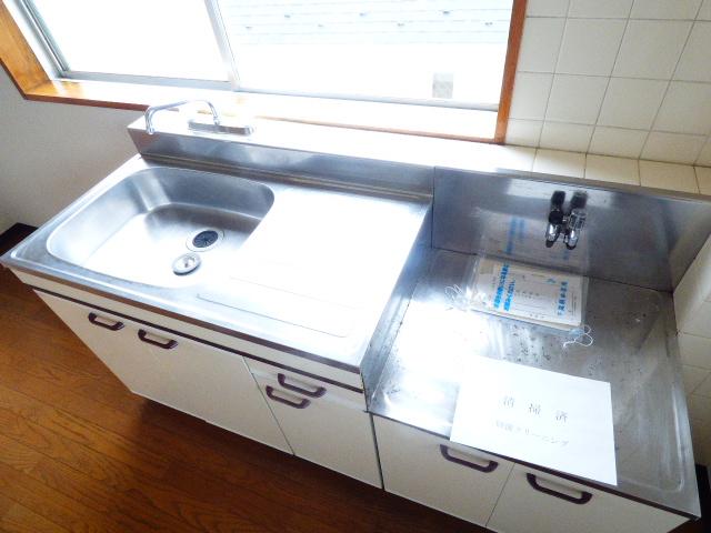 メゾン谷津マンション 201号室のキッチン