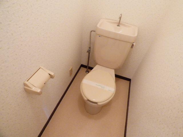 メゾン谷津マンション 201号室のトイレ