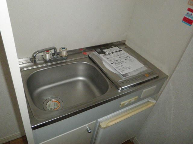 ドミールパスァパス 103号室のキッチン