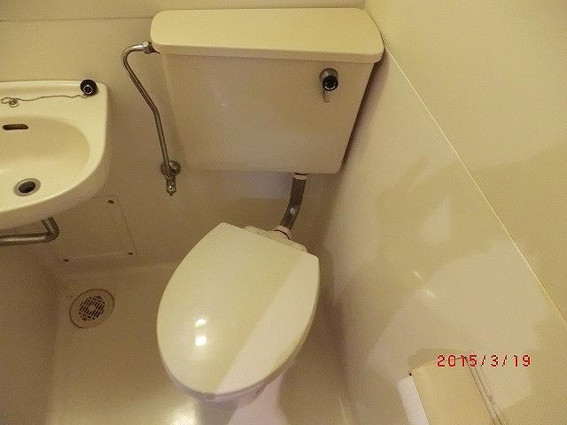 インターフェイス壱番館 301号室のトイレ