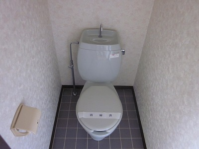 コーポ草風A棟 201号室のトイレ