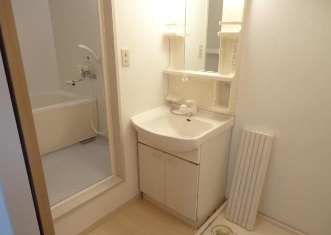 グランシード中丸NO8 206号室の洗面所