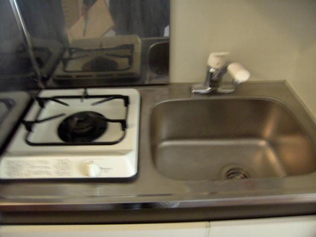 ハイムビュー 203号室のキッチン