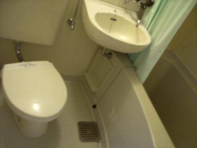 ハイムビュー 203号室の風呂