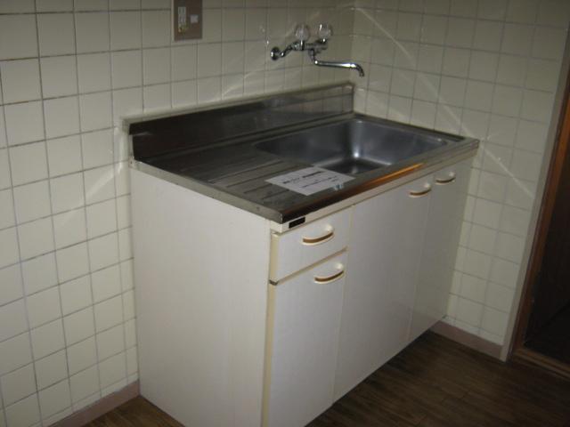 リバーサイドハイツ 103号室のキッチン