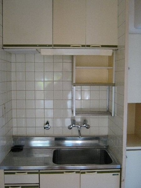 レジデンス藤ヶ丘 1A号室のキッチン