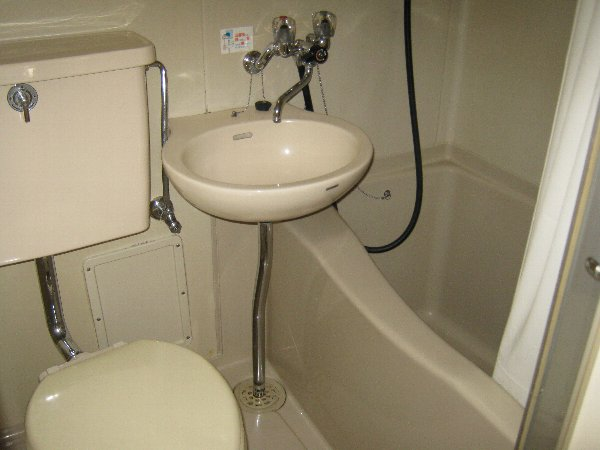 レジデンス藤ヶ丘 1A号室の洗面所