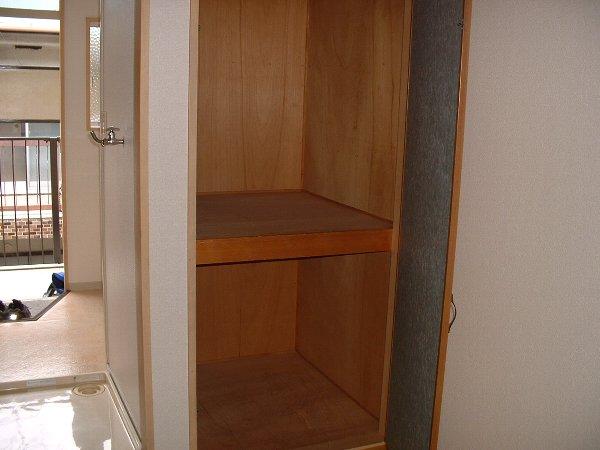 コーポサングリーン 205号室の収納