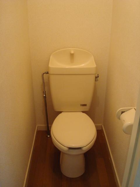 ハイツ深田池 102号室のトイレ
