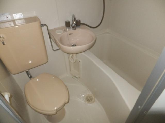 レモンハイム 1D号室の風呂