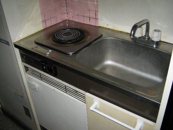 サンシティ八剣Ⅱ 302号室のキッチン