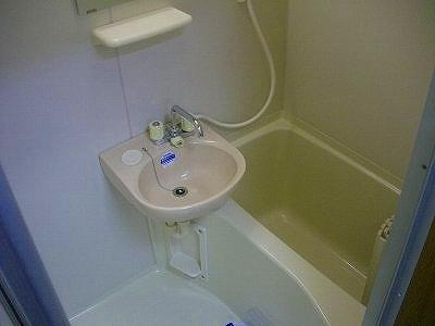 マンションアヤメ 303号室の風呂