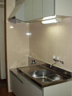 マンションアヤメ 101号室のキッチン