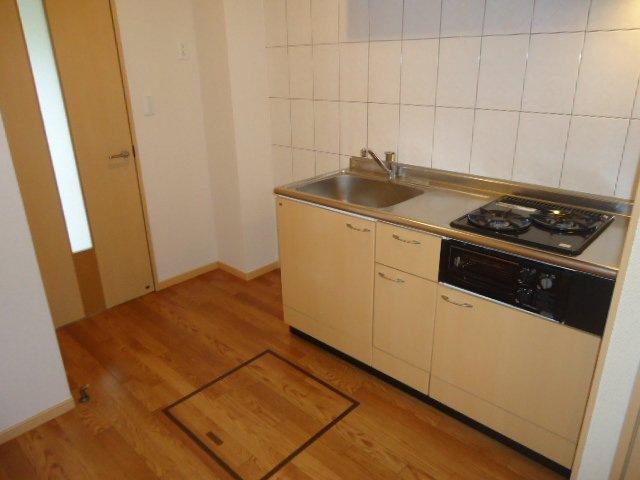 ヴァンベール 107号室のキッチン