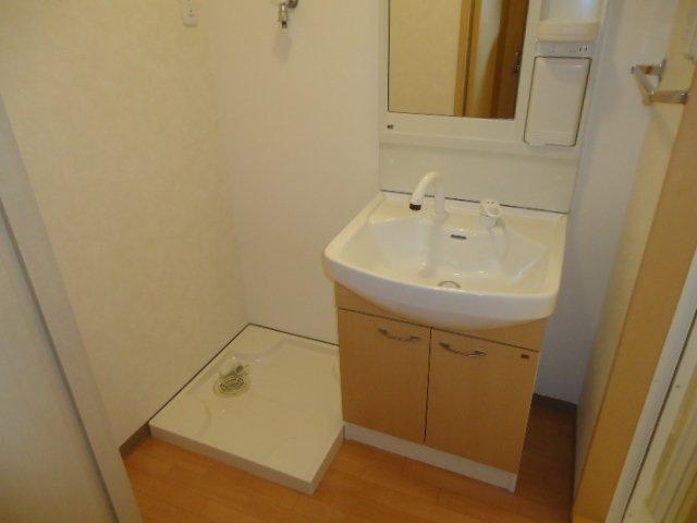 ヴァンベール 107号室の洗面所
