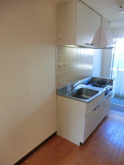 コルチナリア都賀 202号室のキッチン