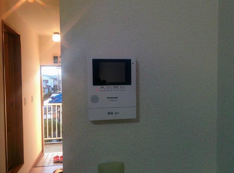 ベルガーネットA・B B101号室のセキュリティ