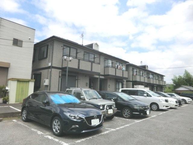 星野テラスハウスⅠの駐車場
