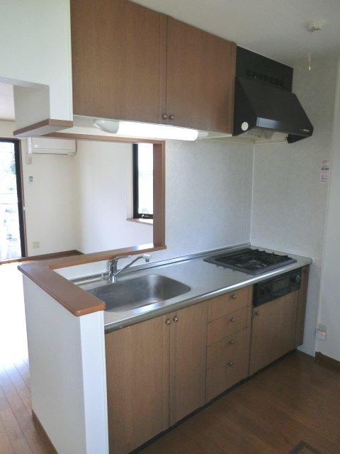星野テラスハウスⅠのキッチン
