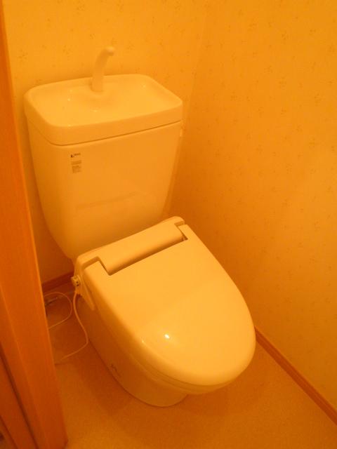 パールブライト根岸 101号室のトイレ