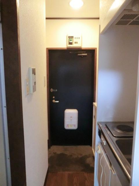 小池ハイツ 203号室の玄関