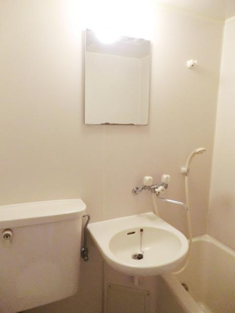 小池ハイツ 203号室の洗面所