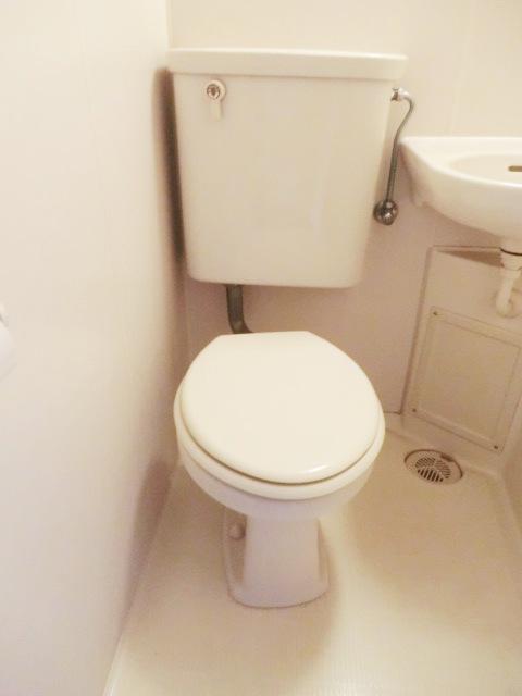 小池ハイツ 203号室のトイレ