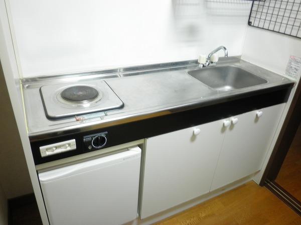 小野ハイツ 201号室のキッチン