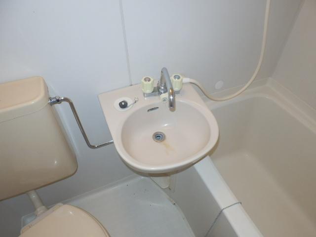 小野ハイツ 202号室の洗面所