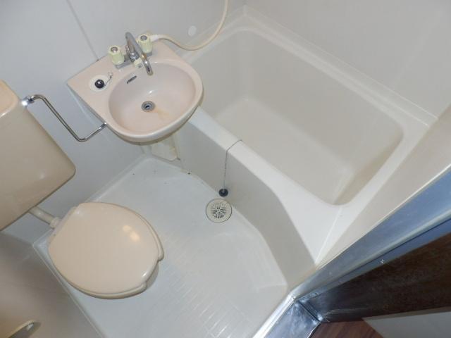 小野ハイツ 202号室の風呂