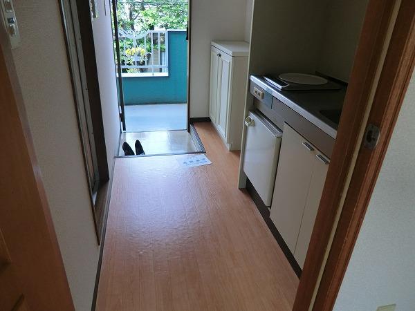 メビウスコート国立 2-B号室のキッチン