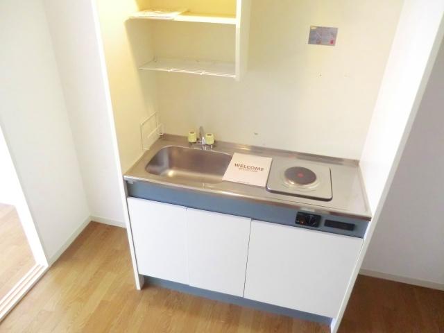 パークサイドハウスA 106号室のキッチン