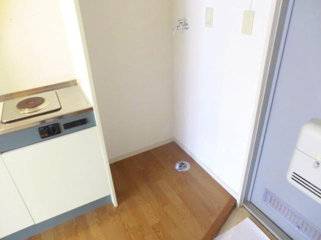 パークサイドハウスA 106号室の玄関