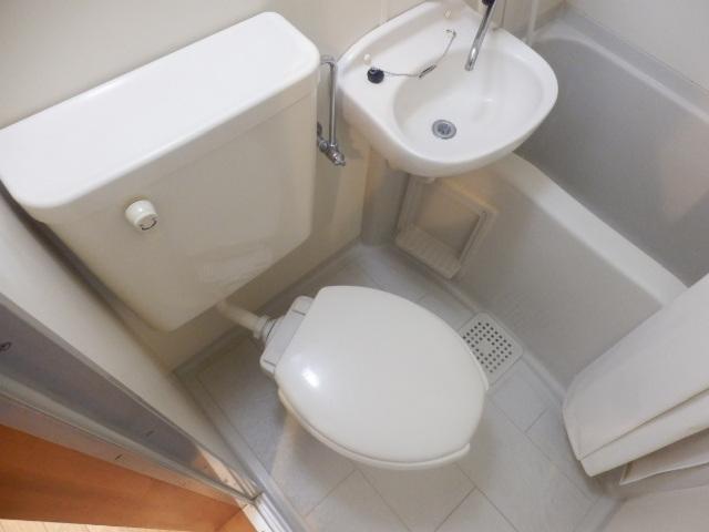 フォッセ国立 303号室のトイレ