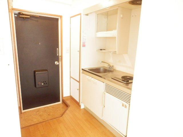ハイム・ヤマ 203号室のキッチン