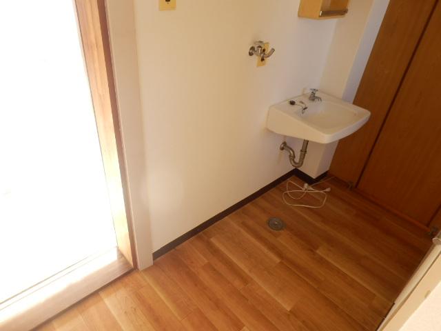 大野ハイツ 302号室の洗面所