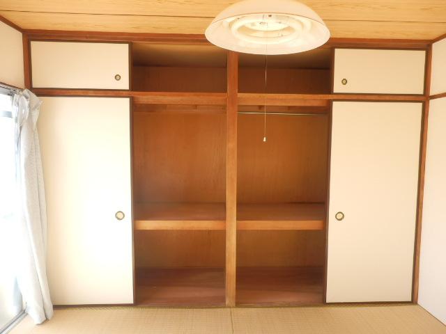 大野ハイツ 302号室の収納