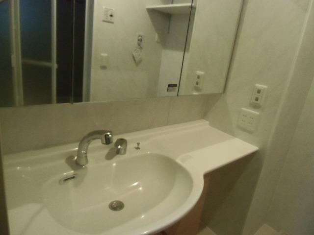 ディアレスト 102号室の洗面所