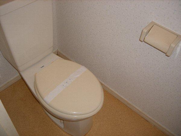アカツキマリオン 101号室のトイレ