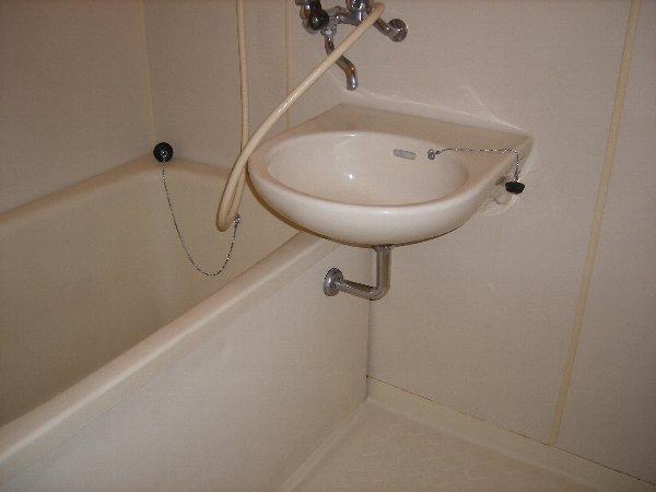 アカツキマリオン 101号室の洗面所