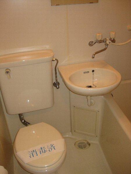 グリーンネスめじろ台 306号室のトイレ