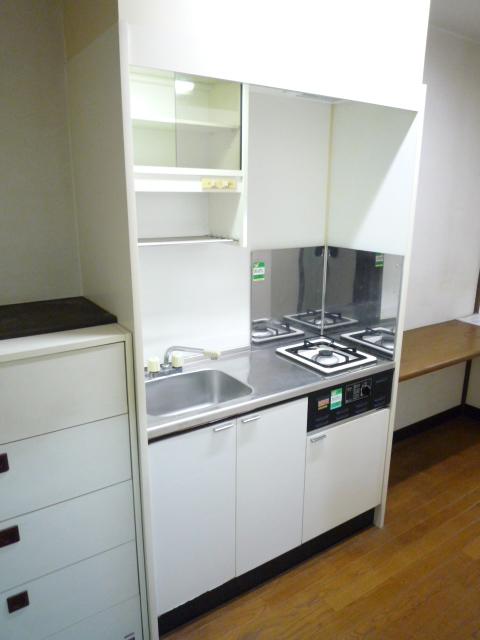 ササキアパート 202号室のキッチン