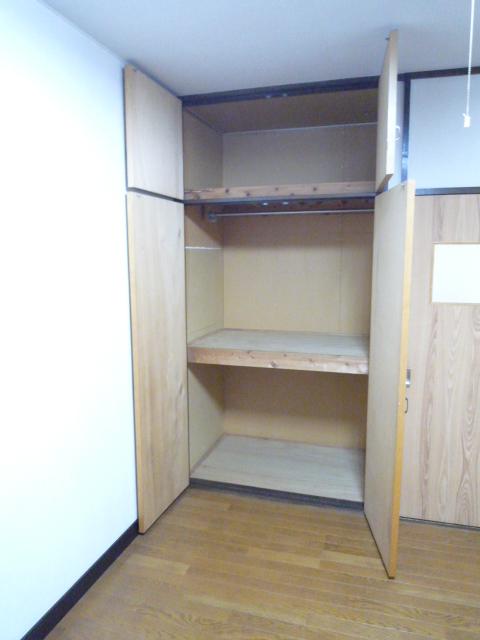ササキアパート 202号室の収納