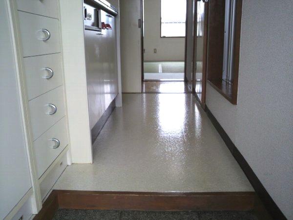 カレッジ平成 204号室の玄関