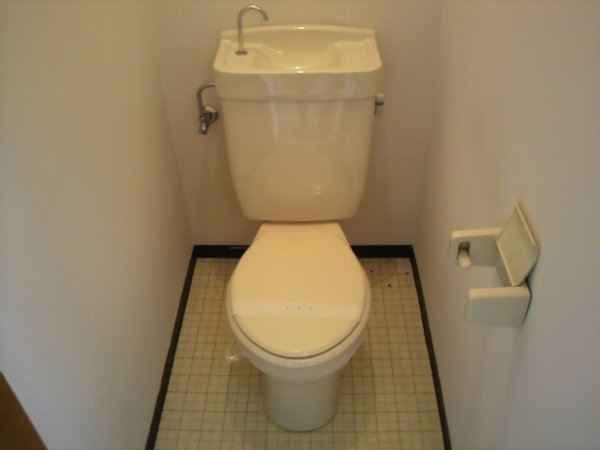 カレッジ平成 204号室のトイレ
