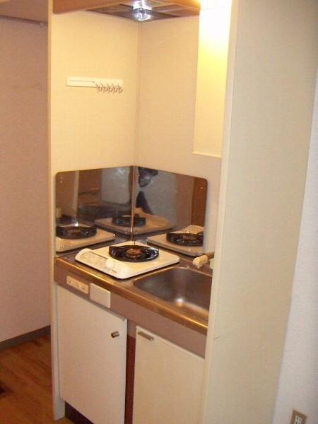 エンジェル20番館 208号室のキッチン